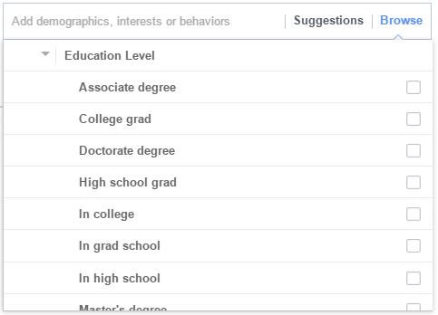 Targeting_based_on_education