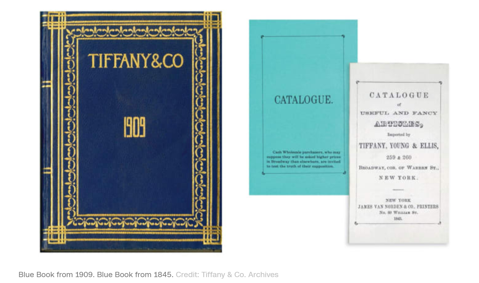 tiffany and co's blue book is a great example for inbound marketing agencies