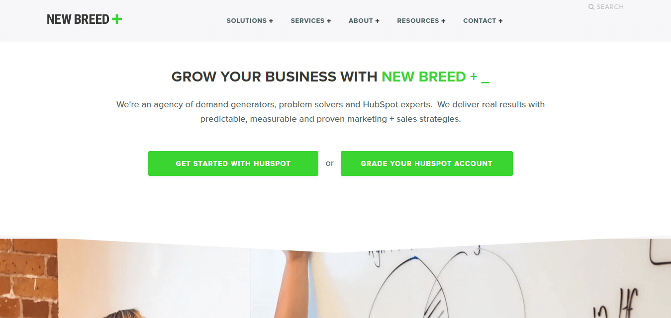 hubspot partner agency newbreedmarketing