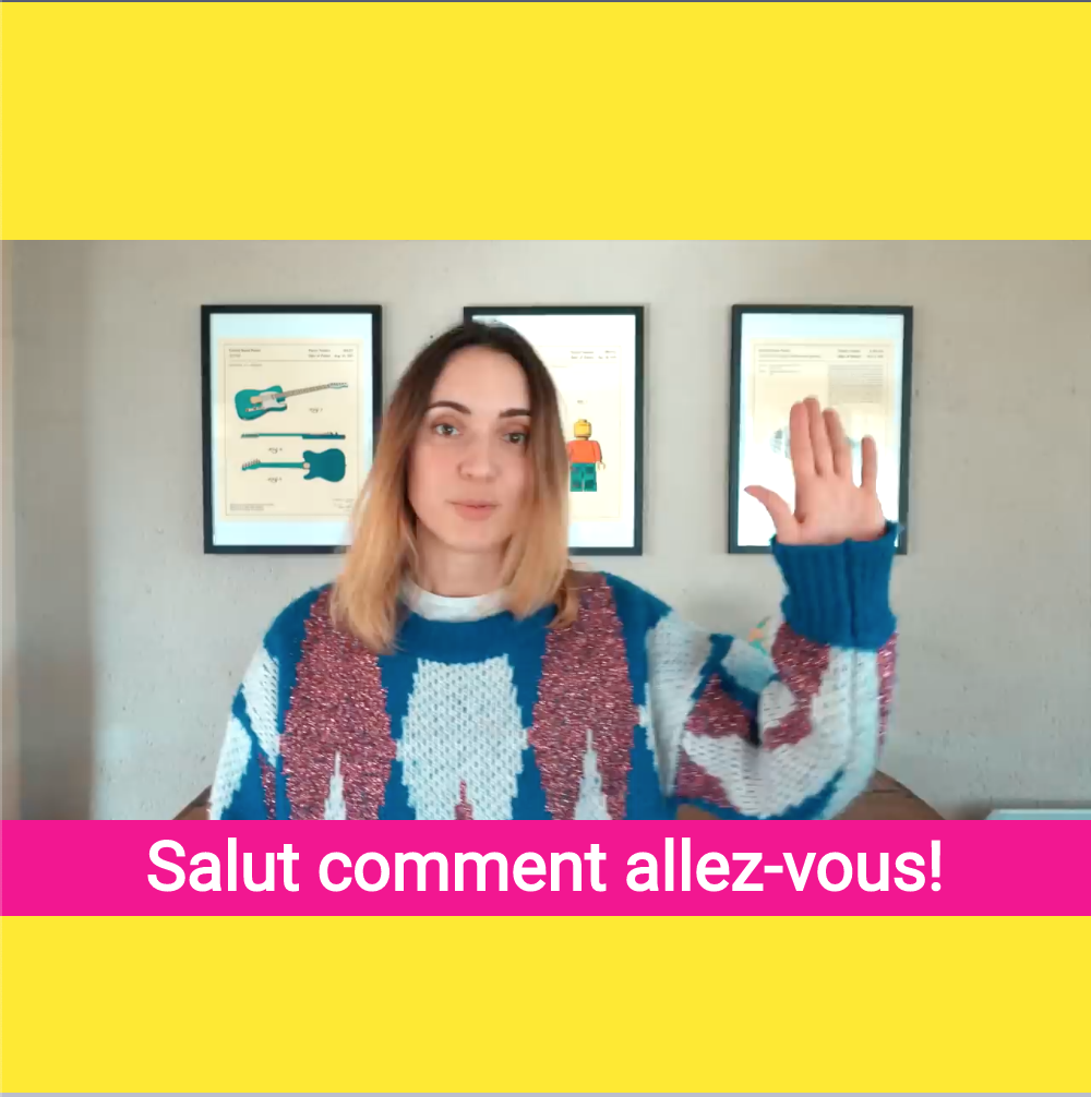 Add Captions in French