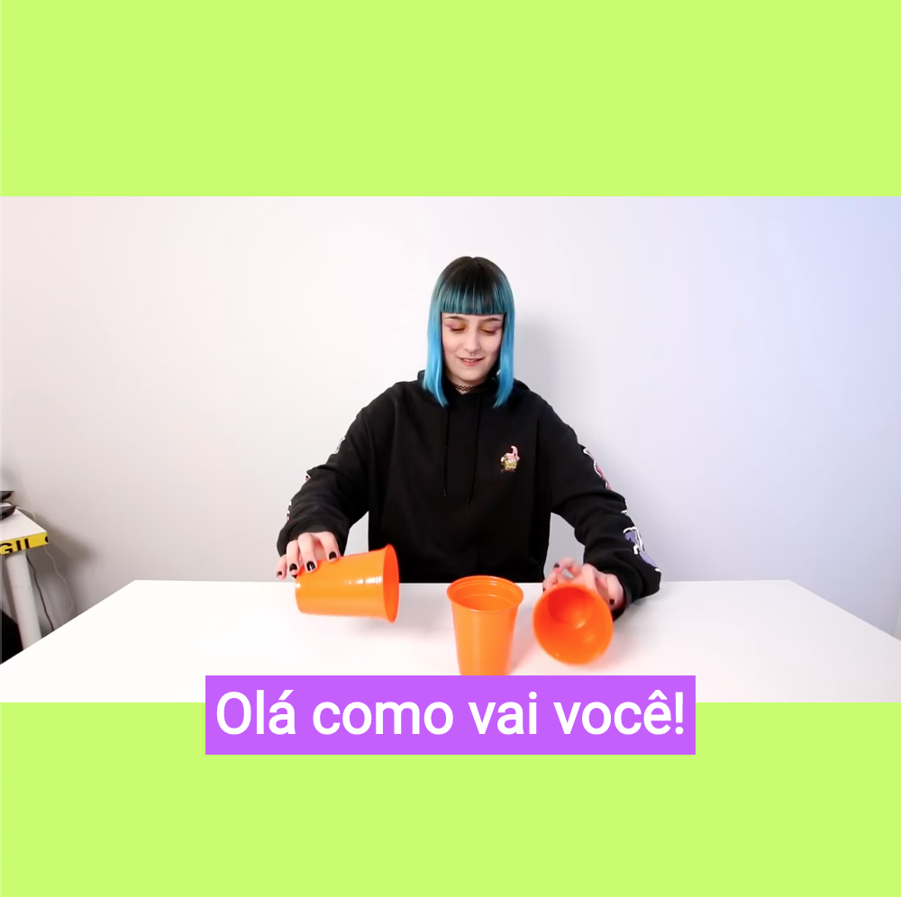 Add Captions in Portuguese