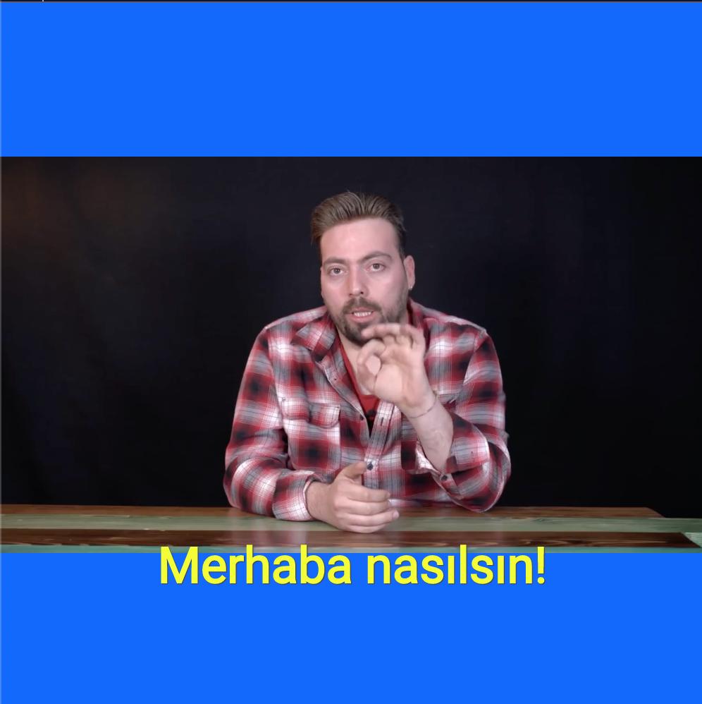 Add Captions in Turkish