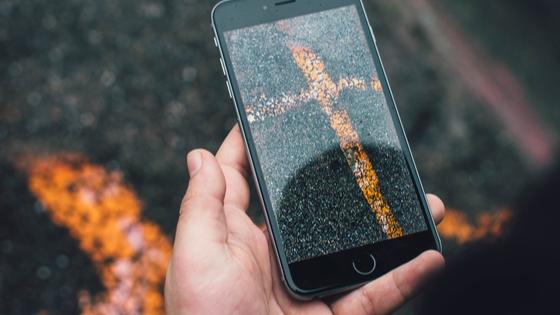 mobile augmented reality on smarphone