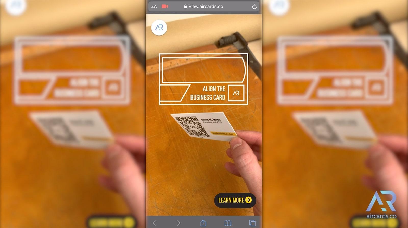 Black & Decker Web AR Cards
