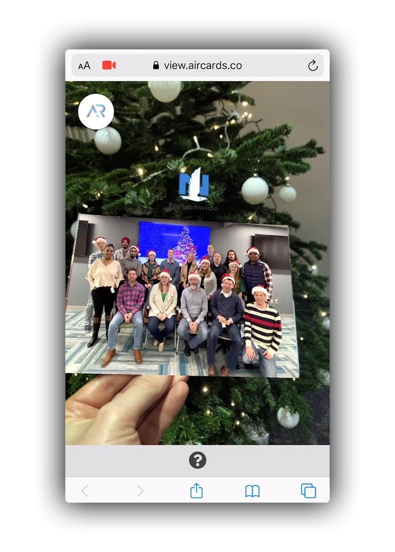 Web AR Direct Mail Case Study