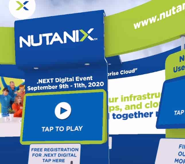 Nutanix AR Experience
