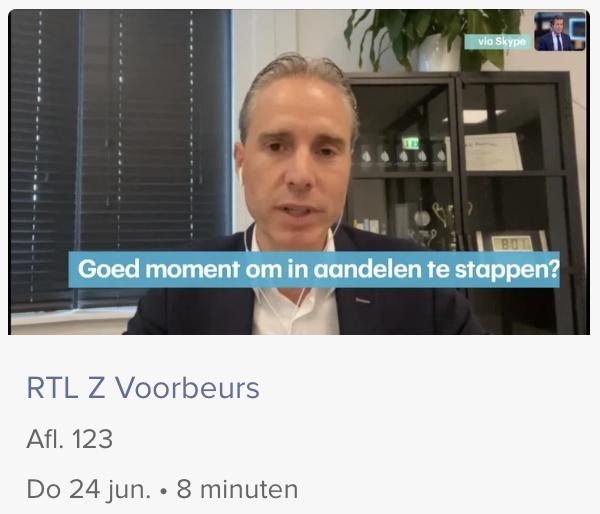 RTL Z Voorbeurs 24 juni 2021