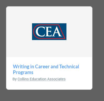 CEA  course card