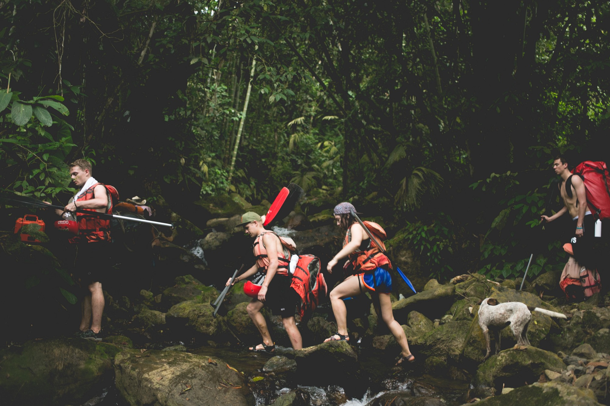 Made by Adventure group treks through Colombia jungle