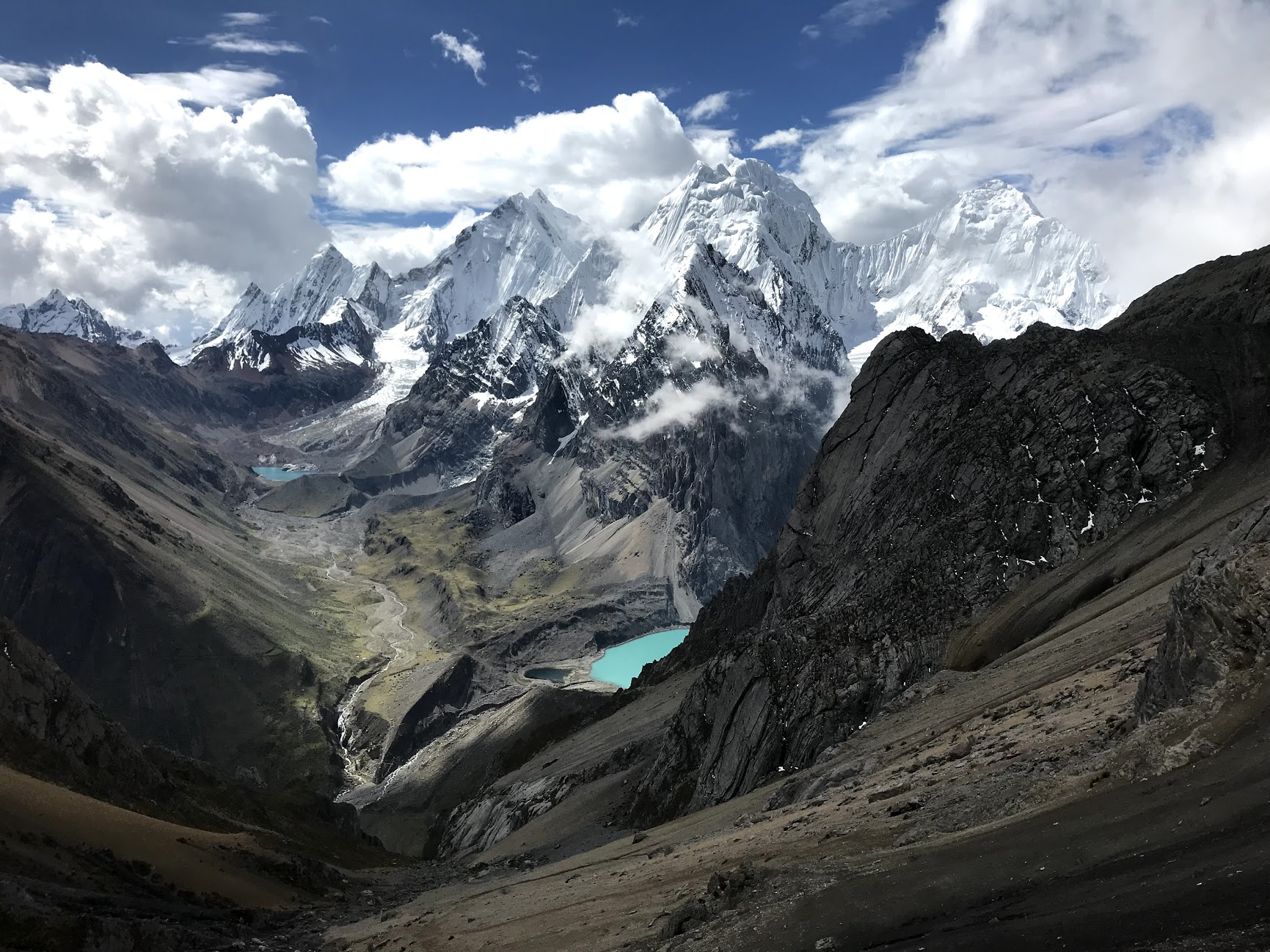 The Cordillera Huayhuash