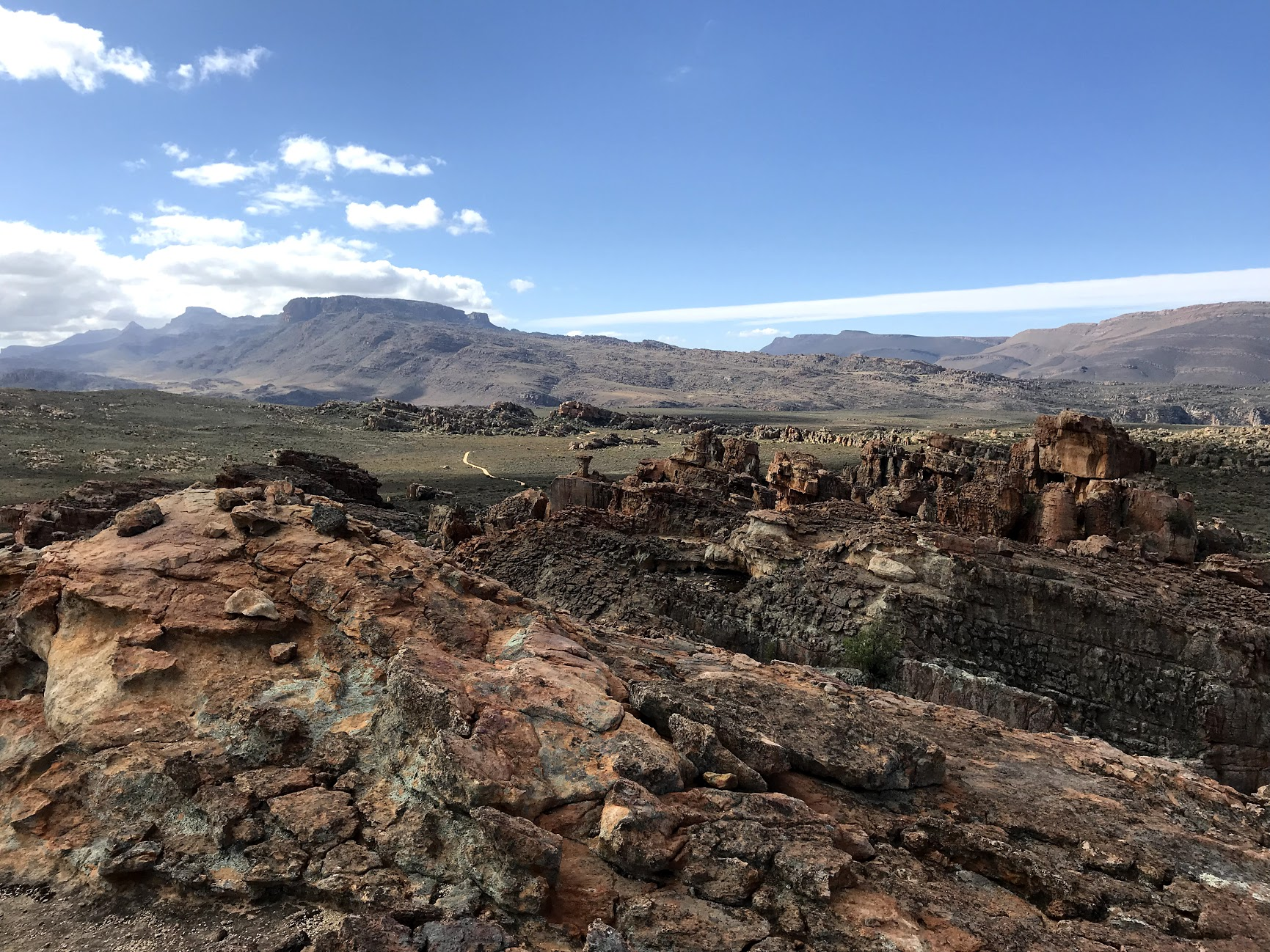 The Cederberg Mountains