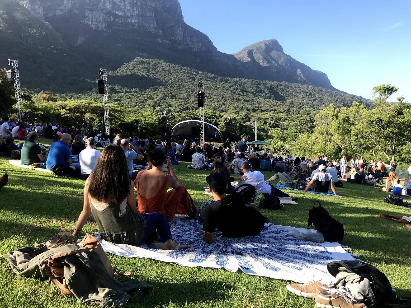 Concert at Kirstenbosch Gardens