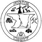 County symbol for Piute County, Utah
