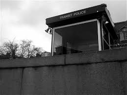A police watch tower