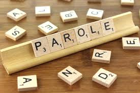 """The Scrabble game with an arrangement of tiles spelling """"Parole"""""""