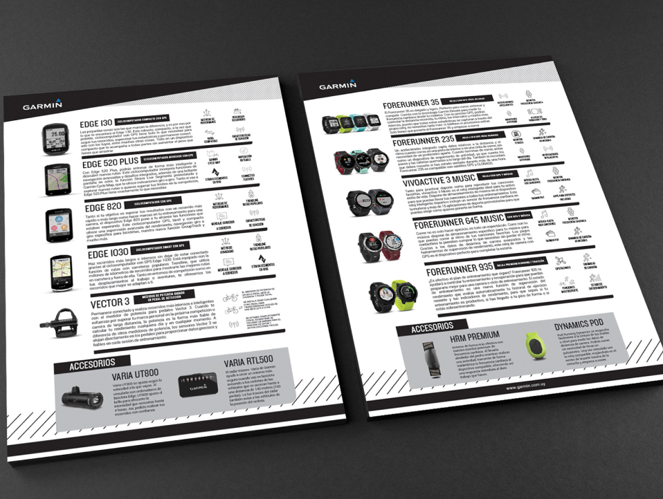Brochures with Graphic Design