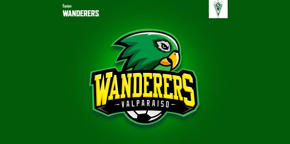 Logo Santiago Wanderers por Gabo Romero