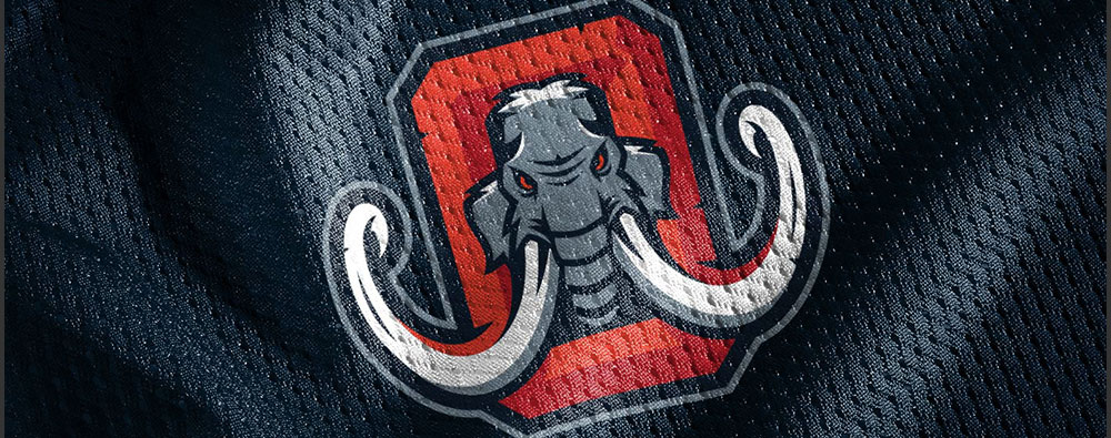 Logo FXFL Omaha Mammoths por Dane Storrusten