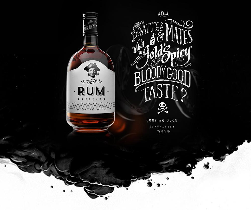 Packaging / Rum by Mateusz Chmura