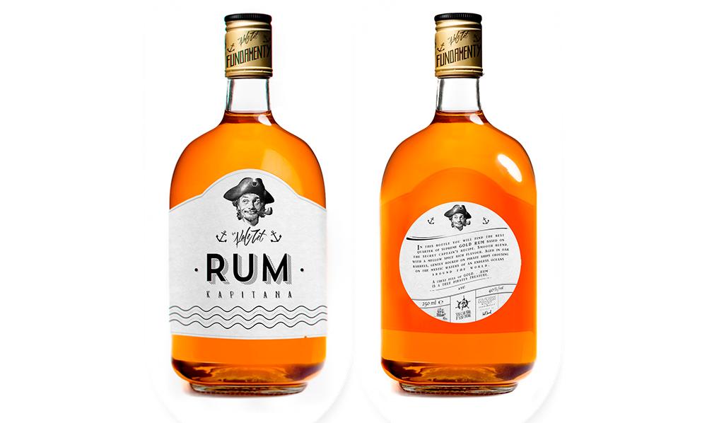 Packaging / Rum by Mateusz Chmurav