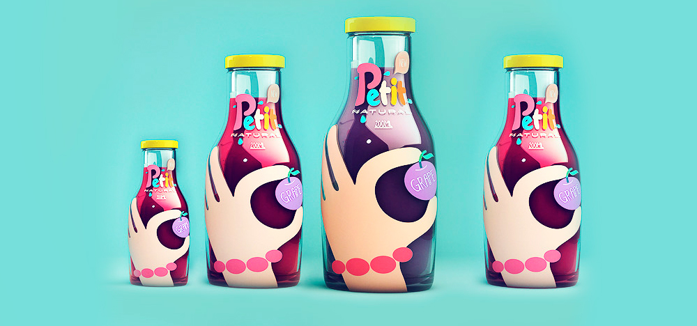 Packaging / Petit - Natural Juice by Agencia Sweety & Co.
