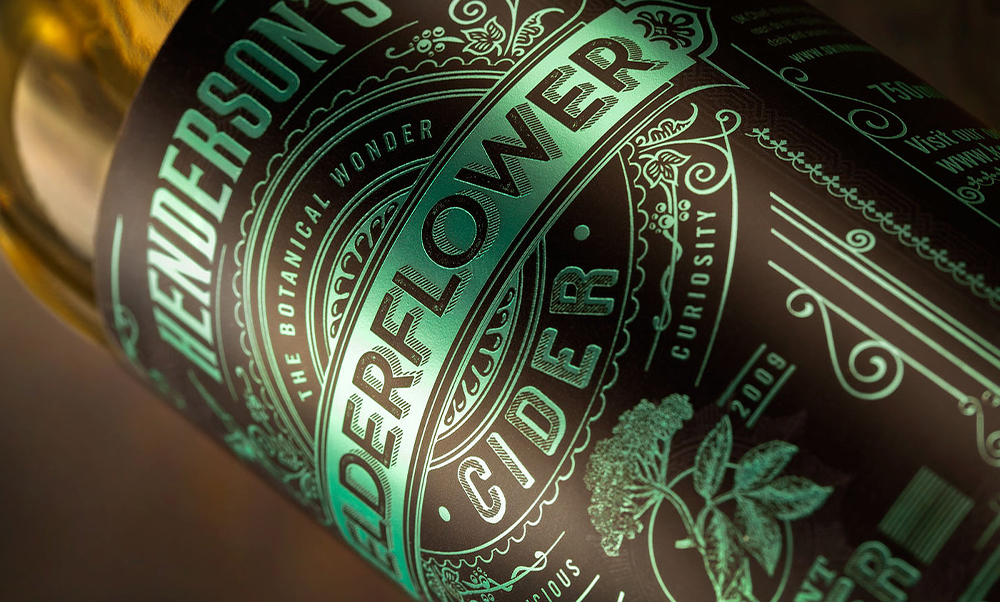 Packaging / Henderson's Cider Redesign by Sand Creative