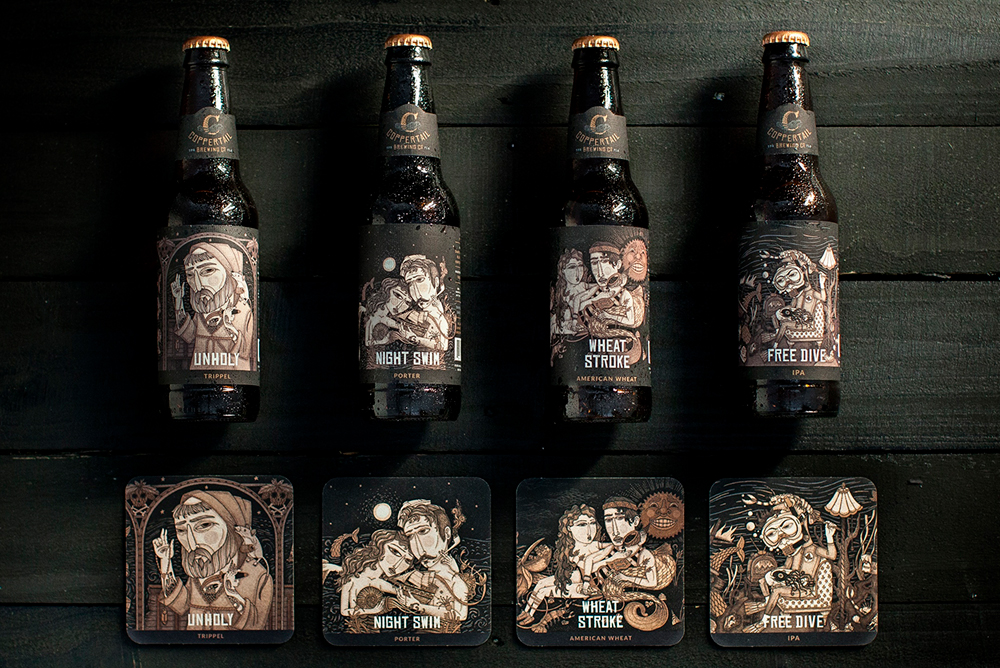Packaging / Coppertail Brewing Co. by Agencia Spark