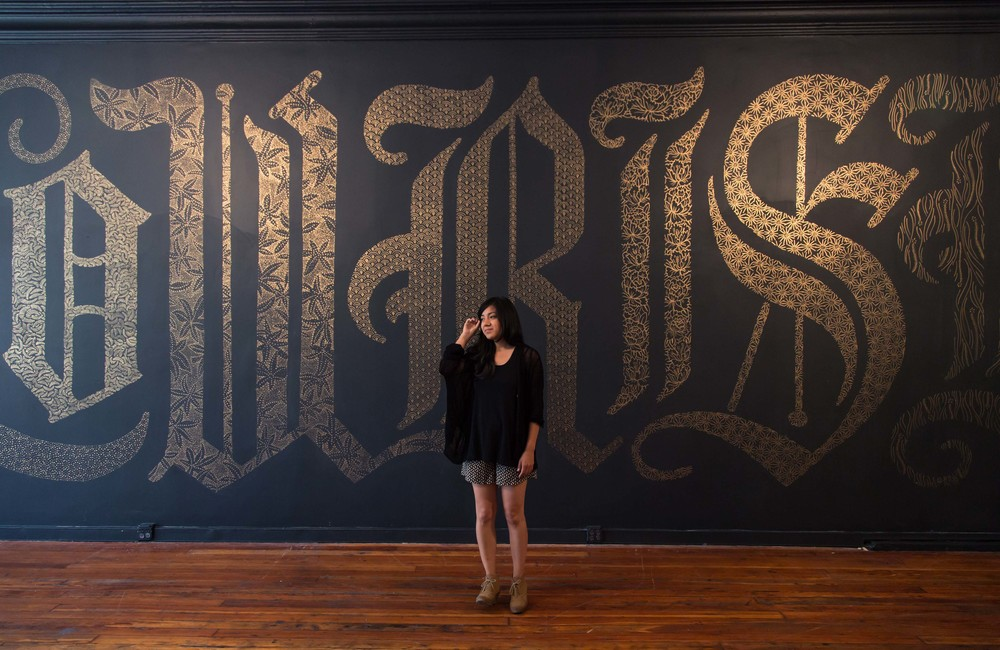 Mural Flourish por Dana Tanamachi