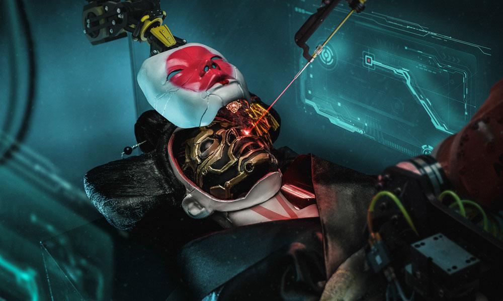 Ghost in the shell por Ilya Nodia - Retoque digital