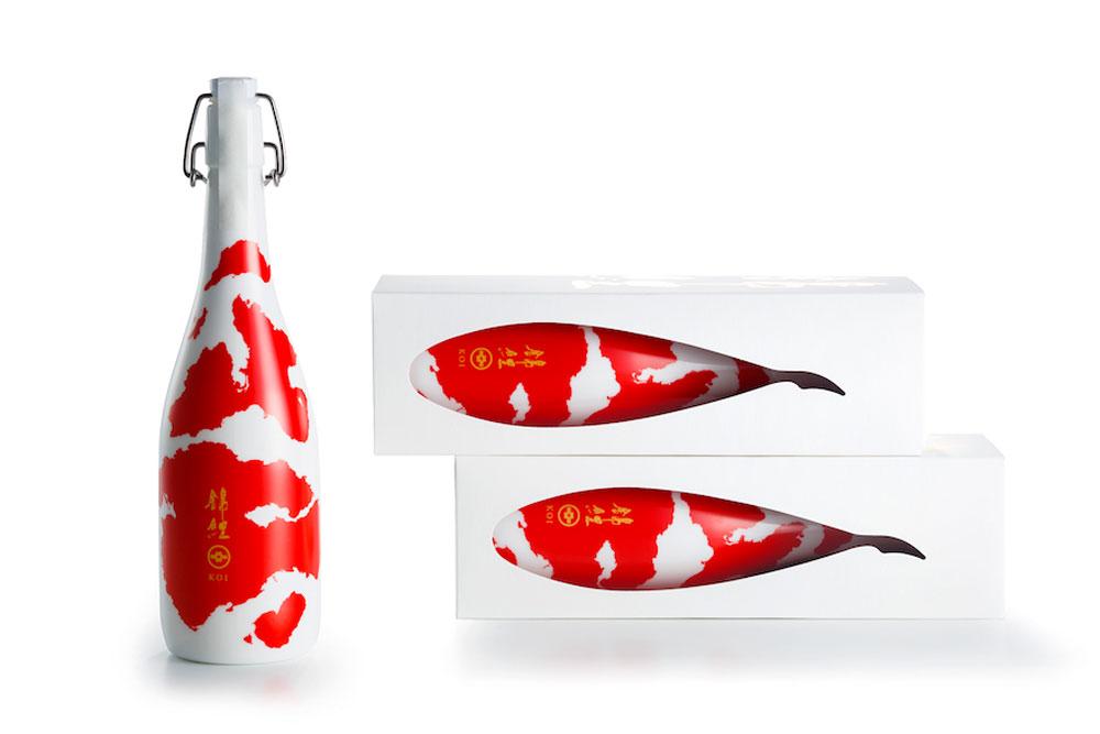 Packaging - Japanese sake por Aya Codama, BULLET Inc.