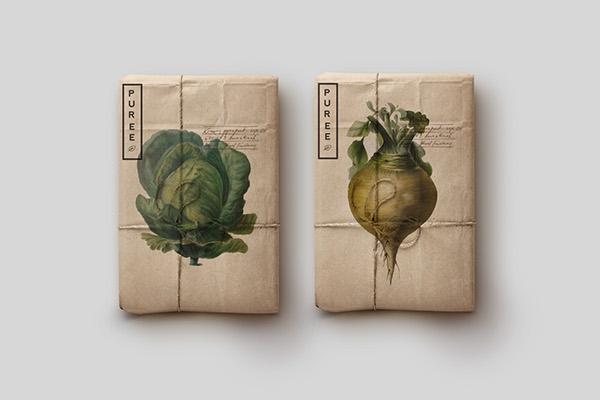 Puree Organics por Monograph&Co