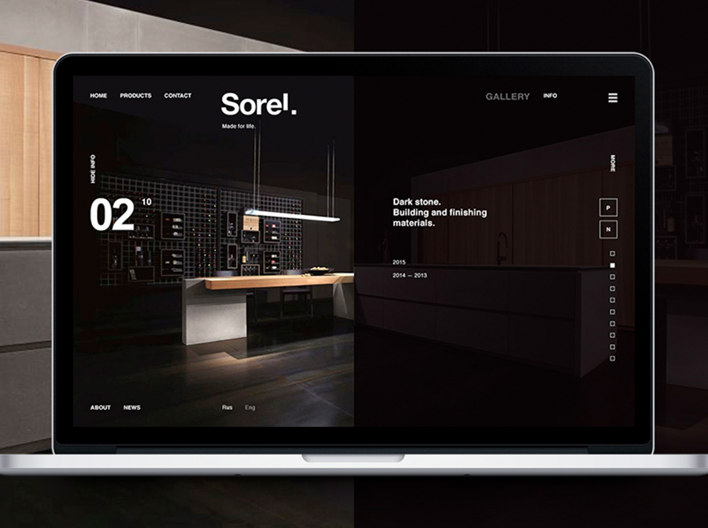 Sorel Leading manufacturers of finishing materials in Russia. | Galería 2Design Blog