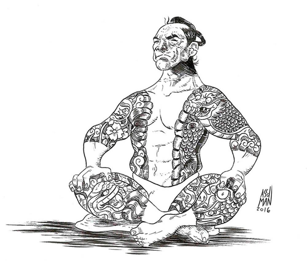 Yakuza por ASCDMAN