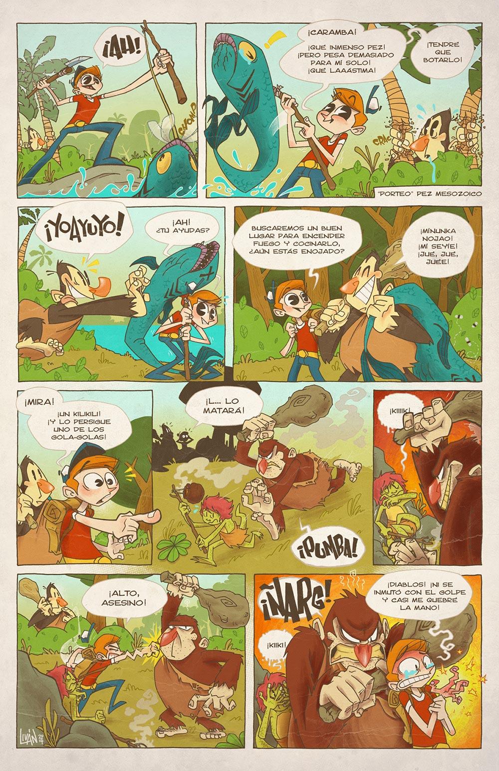Ilustracion de Livan - Ilustradores chilenos por 2Design Blog