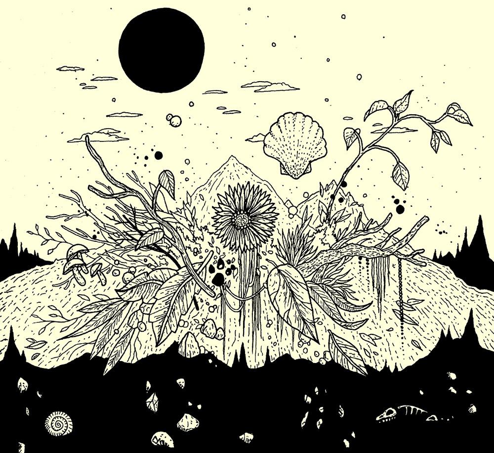 Ilustracion de Ruyman Gilbert - Ilustradores chilenos por 2Design Blog