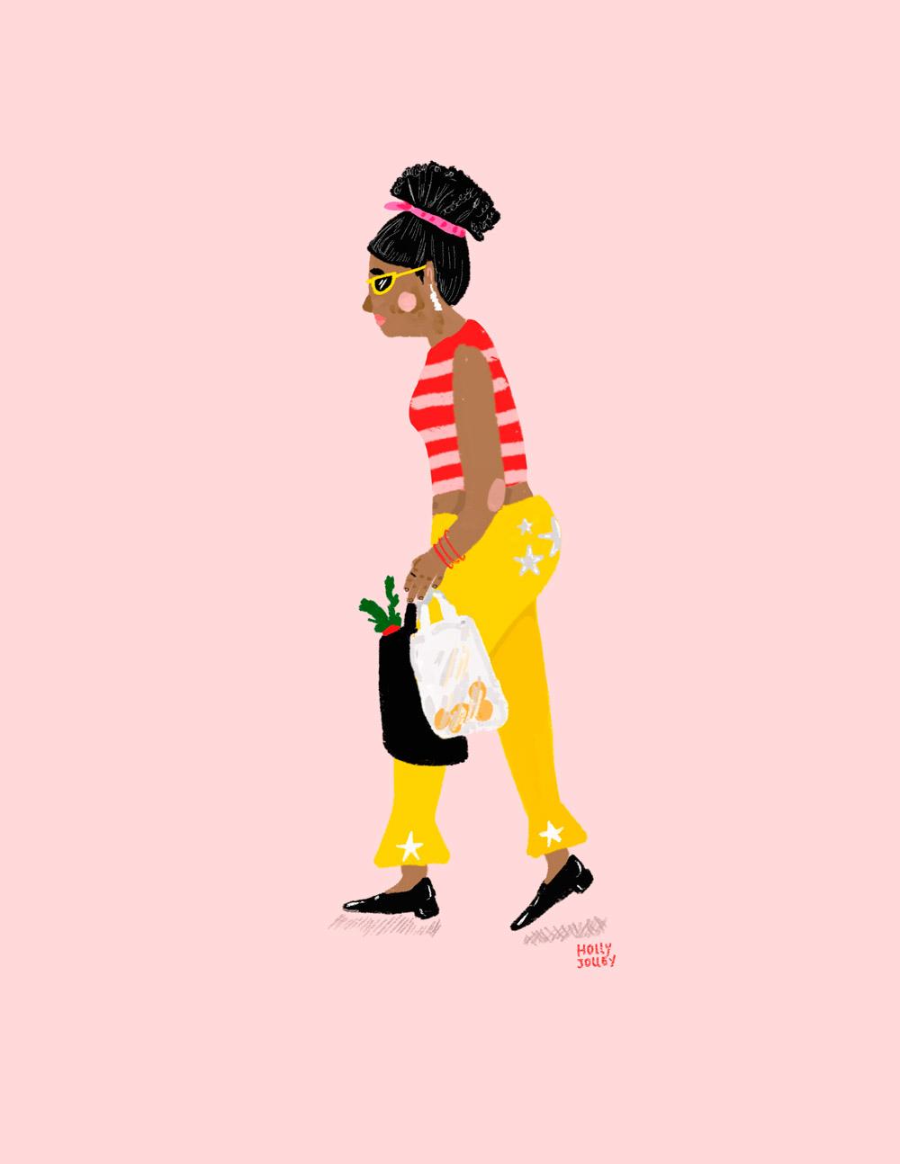 Ilustracion de Holly Jolley - Ilustradores chilenos por 2Design Blog