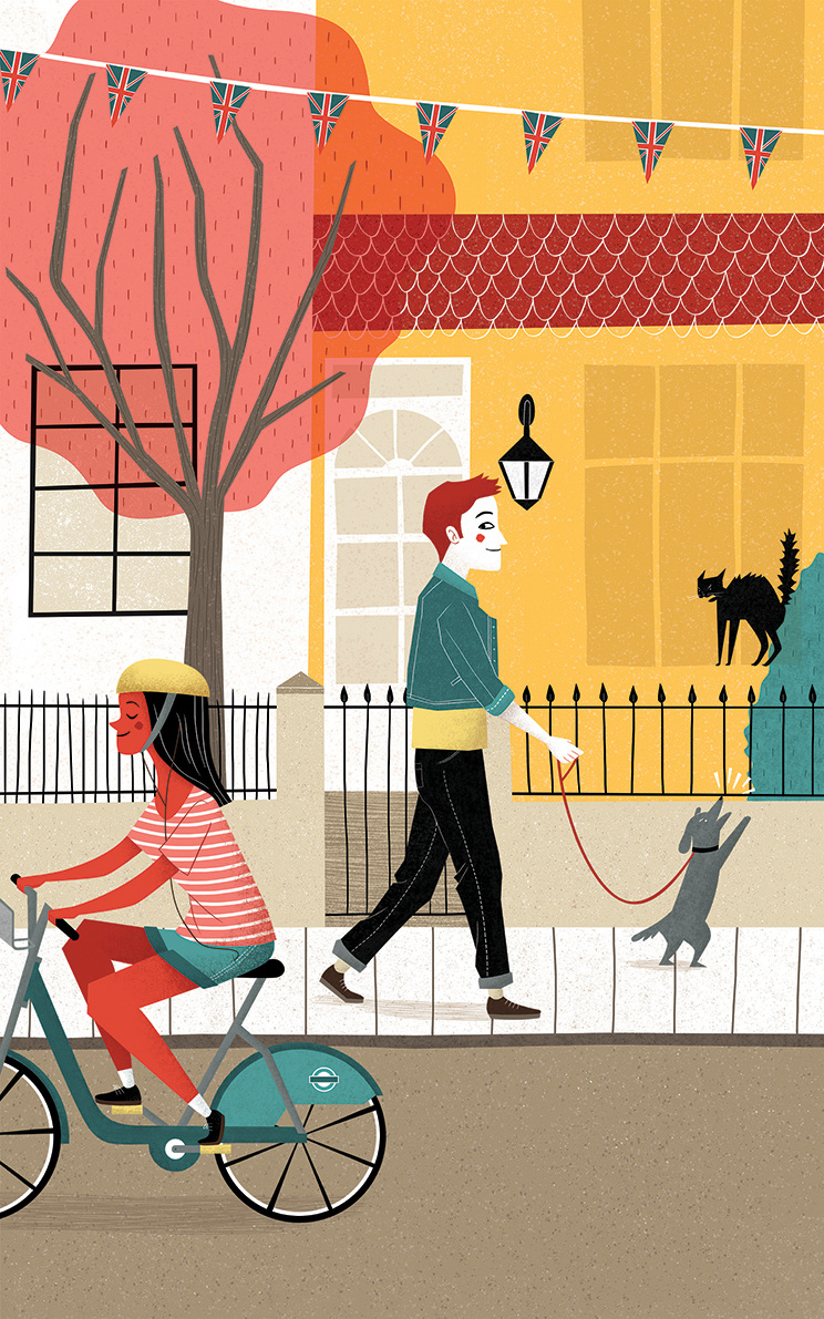 Ilustracion de Moriven - Ilustradores chilenos por 2Design Blog