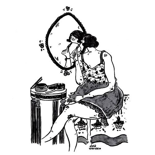 Ilustracion de Elisa Moreno - Ilustradores chilenos por 2Design Blog