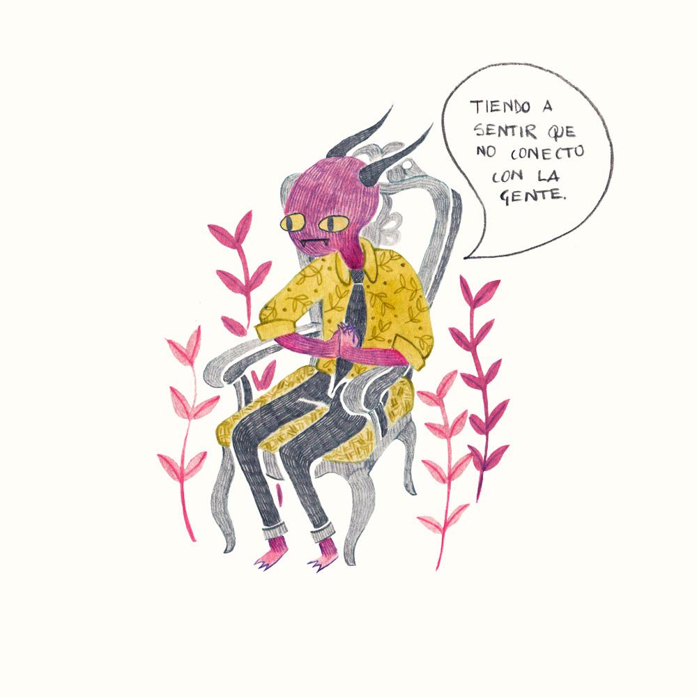 Ilustracion de Gabicoco - Ilustradores chilenos por 2Design Blog