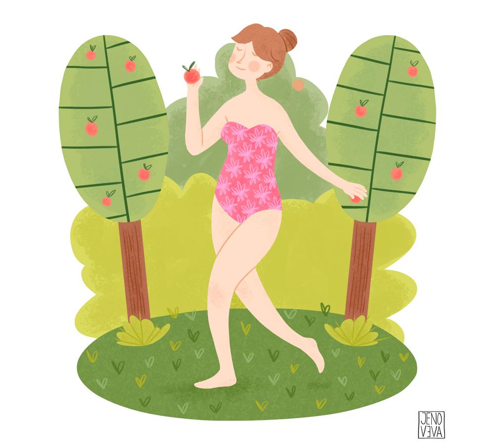 Summer por Jenoveva Espinoza