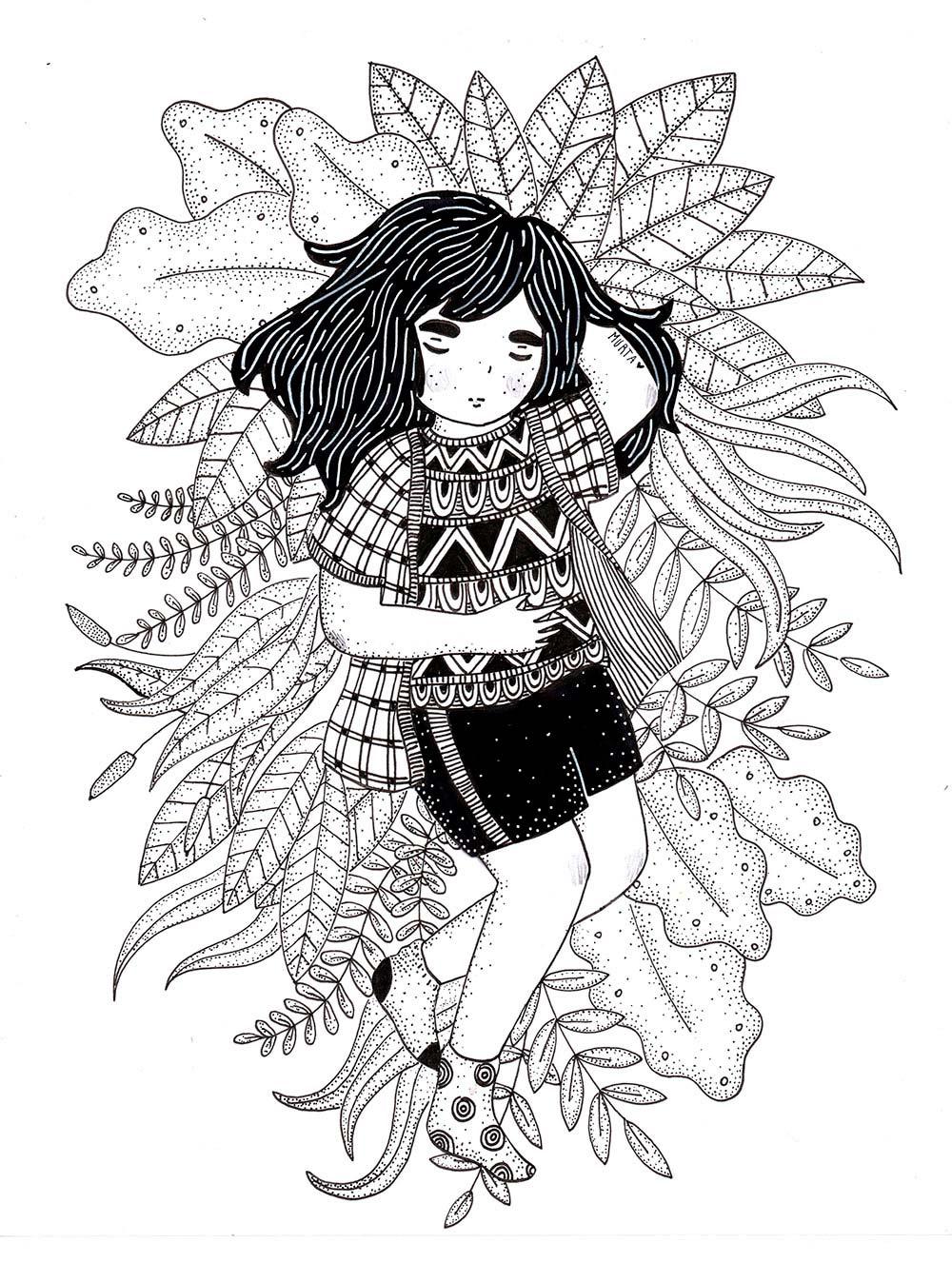 Ilustracion de Murta Serenpidia - Ilustradores chilenos por 2Design Blog