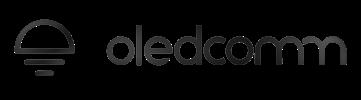 oledcomm logo black