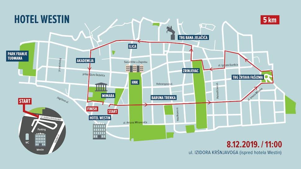 Zagreb Advent Run 5 km