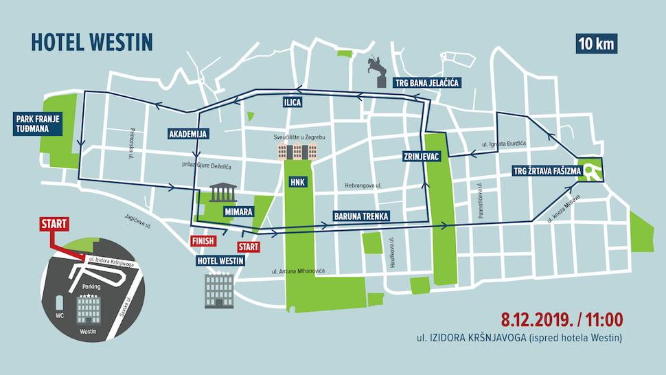 Zagreb Advent Run 10 km