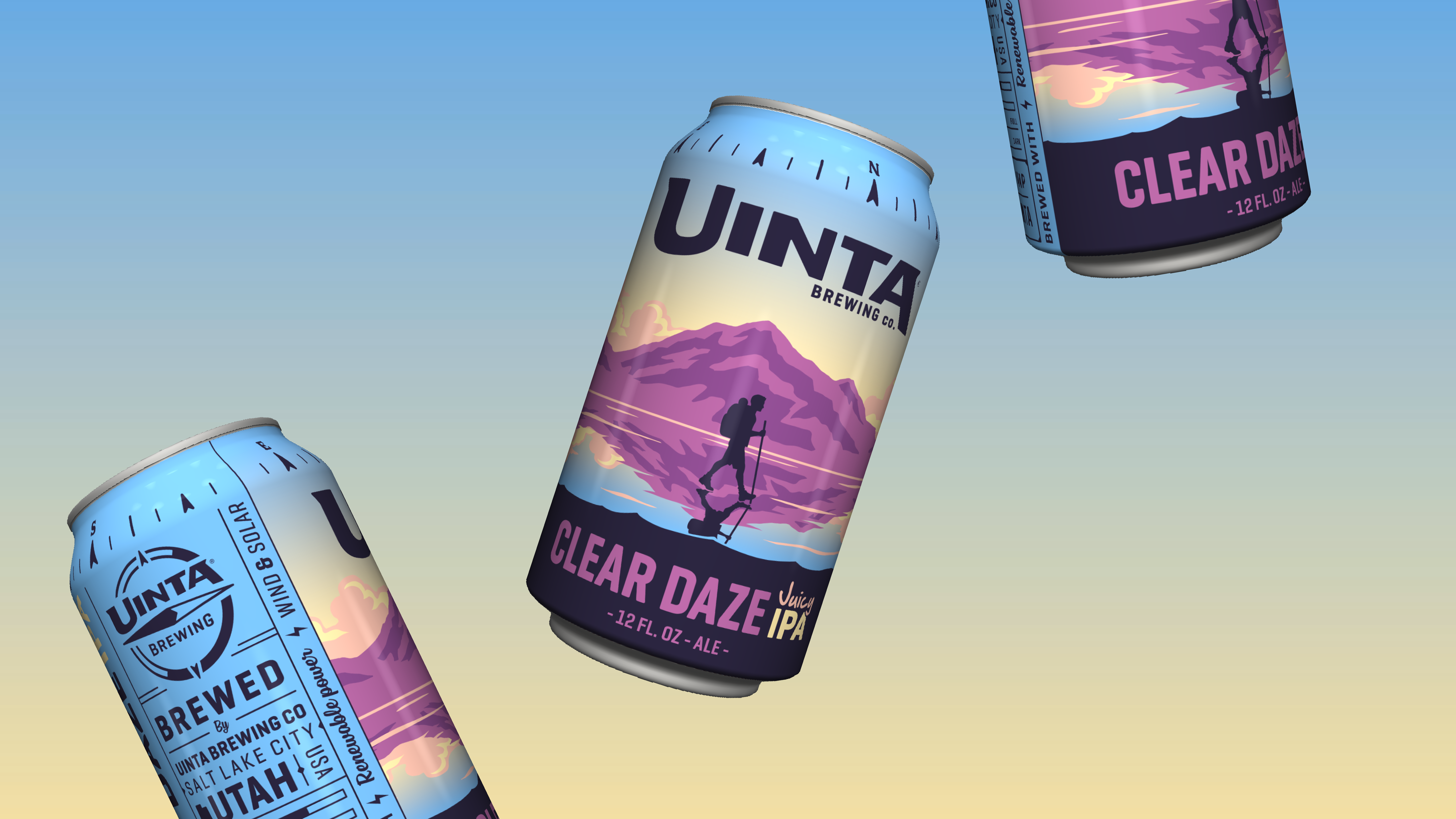 Uinta Clear Daze Cans