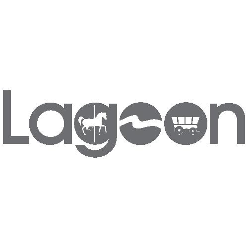 Lagoon Amusement Park Logo