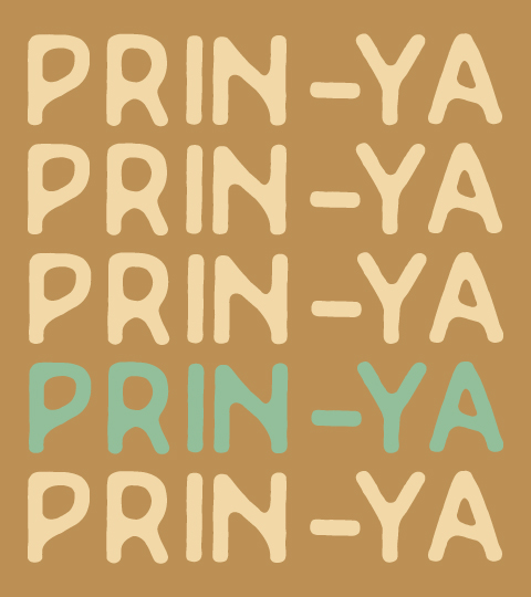 Prin-Ya Text Pattern