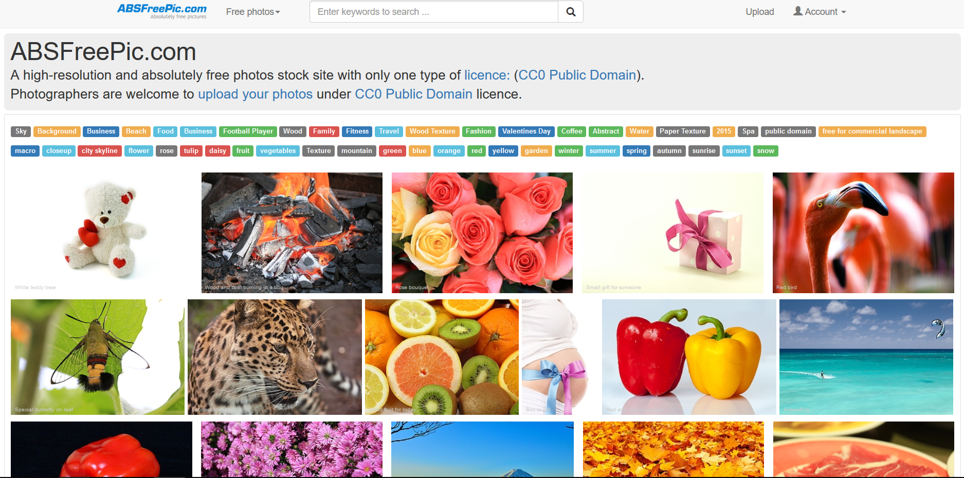 50 sites to find free images and stock photos