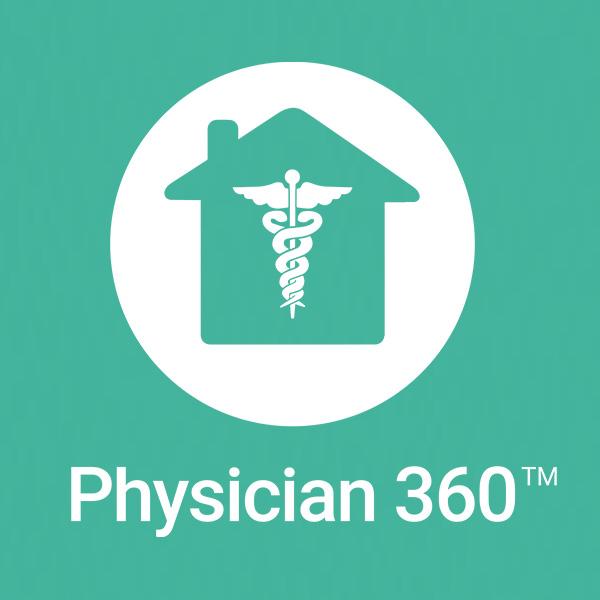 Physician 360 logo
