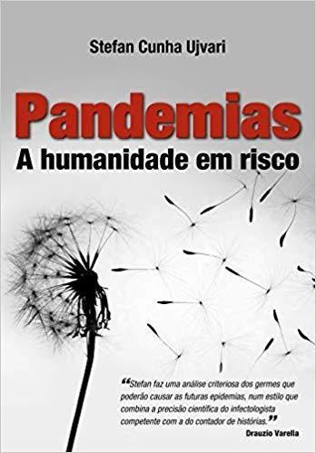 Foto da capa do livro Pandemias - a humanidade em risco.